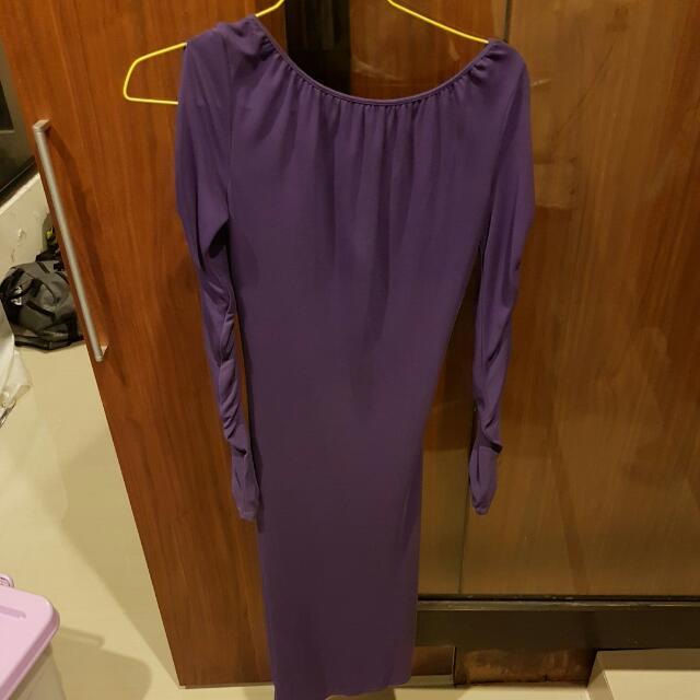 VERSUS Sexy Open Back Dress