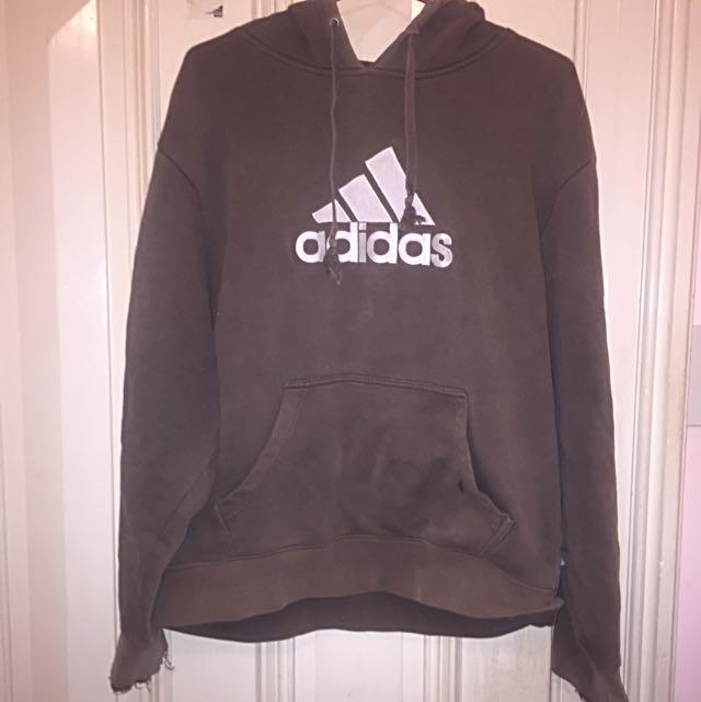 Vintage Oversized Adidas Hoodie