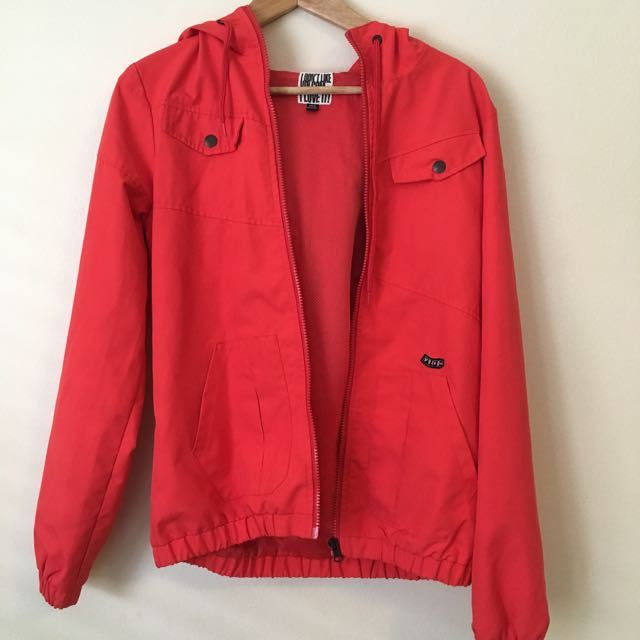 Volcom Red Windbreaker