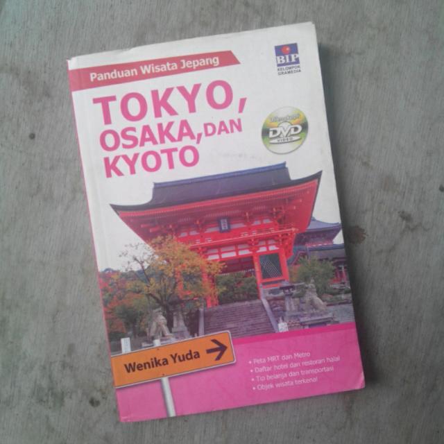 Wenika Yuda Paduan wisata Jepang (tokyo, osaka, kyoto)