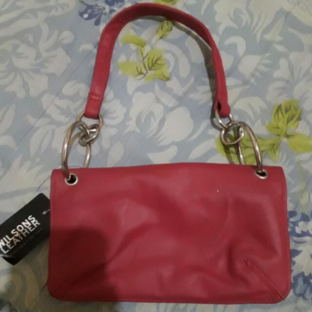 Wilson's Leather Handbag