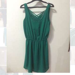 Suite Blanco Green Dress
