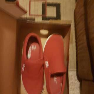 Red Duffy Shoes