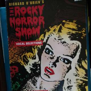 Rocky Horror Picture Show Sheet Music, For Singers