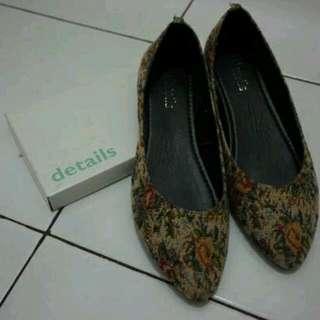 Detail Knit shoes