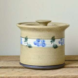 Vintage Pottery Kitchen Canister - Beech Mountain Pottery