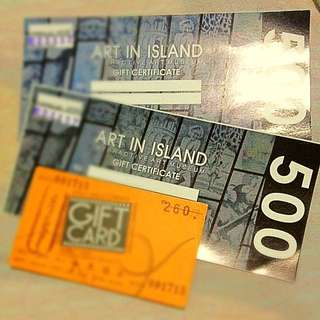 Art In Island (Pass for Two ) + Ayala Cinema Ticket worth 260.00 ( no expiration )
