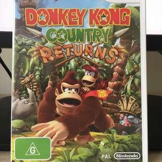 Donkey Kong Country Returns For Wii & WiiU
