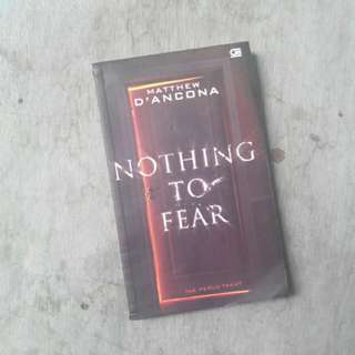 Matthew D'Ancona nothing to fear