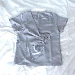Woman Blouse Grey