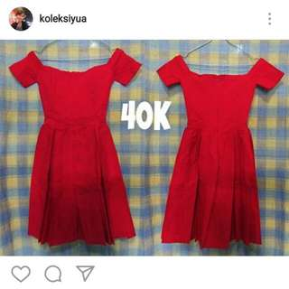 Preloved Red Dress