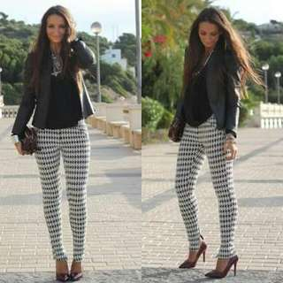 SizeS Zara Leggings Houndstooth