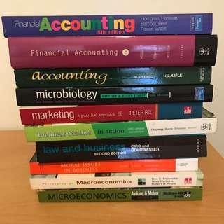 Accounting Marketing Business Economics Textbooks
