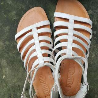 ON SALE!!! White Gladiator Sandals from P799 to P549
