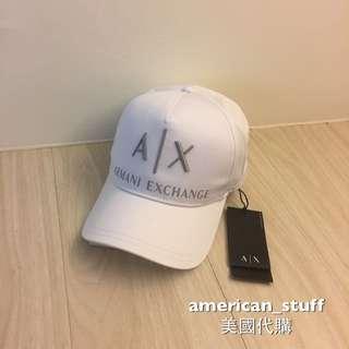 全新AX 白色帽子 可調式 Logo款
