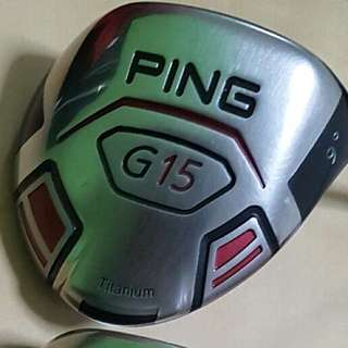 Ping G15 Driver 9 Degree