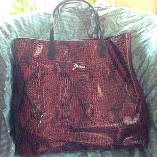Preloved Guess Large Tote Bag