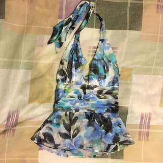 GUESS Halter Top Padded