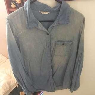 Jay Jays Long Sleeve Button Up Shirt