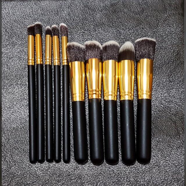 10-Pc Make Up Brushes