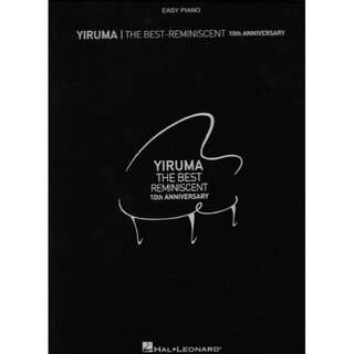 [BRAND NEW] Yiruma - The Best Reminiscent (Easy Piano)