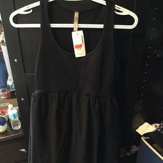 BNWT Black THYME Maternity Dress (S)