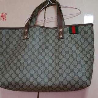 Authentic Gucci Canvas Bag
