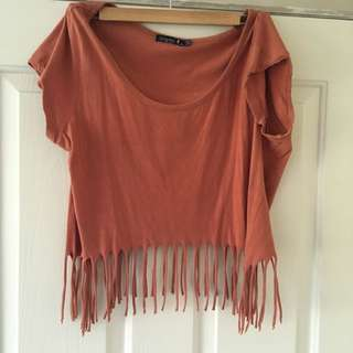 Living Doll Festival Tassel Fringing Top