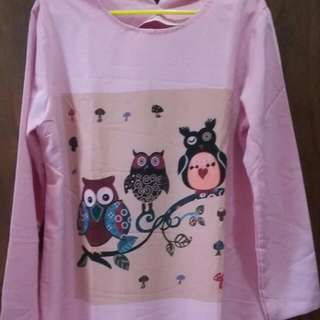Tunik OWL Pink