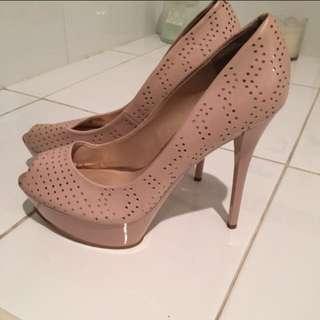 Light Pink Guess Stiletto Heels !