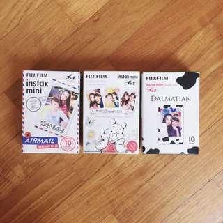 Fujifilm Instax Mini (Airmail/Pooh/Dalmation) TRADE?