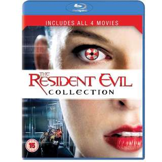 Resident Evil Collection (1-4) Blu Ray