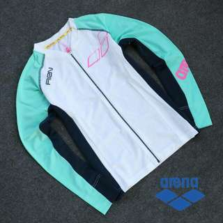 Arena Female Rashguard with Zip