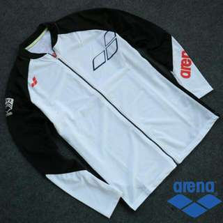 Arena Rashguard With Zip