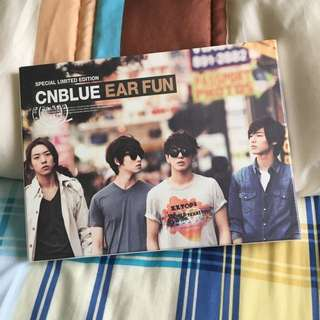 CNBLUE Special Limited Edition EAR FUN album (Kang Min Hyuk ver.)