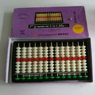 3rd Generation 2-in-1 Abacus