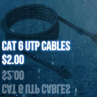 New Cat 6 UTP/ LAN Cable/Network cable/Internet cable/Data cable/for router/modem/ont/laptop/Switches.