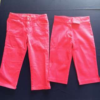 Girl's Pink Jeans