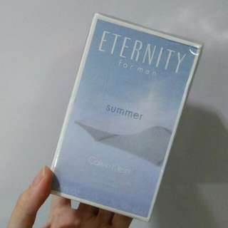 CK Calvin Klein Eternity Summer For Men, Bnew Sealed In Box, Guaranteed Authentic