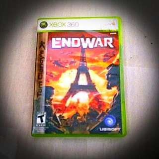 X-Box 360 Game ( End War )