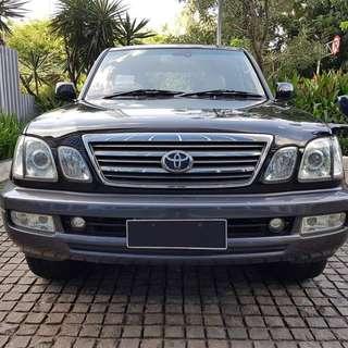 Toyota Cygnus Land Cruiser 4.7 AT 2004