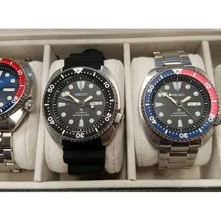 Seiko Turtle set - SRP777 K and SRP779 K