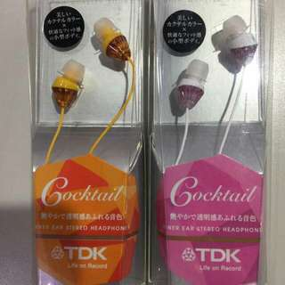 TDK COCKTAIL headphones