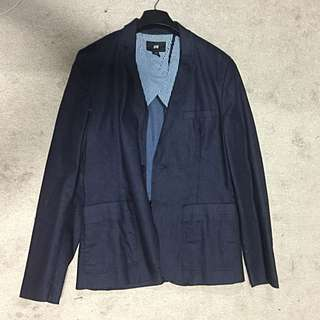 [FAST DEAL]H&M DENIM BLAZER [BELGIUM EXCLUSIVE]