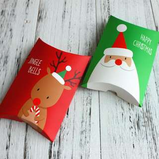 Christmas Goodies Bag Candy Bag Biscuit Packaging Snack Box