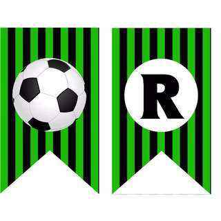 Bunting Banner - Soccer