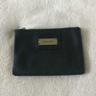 Urban soul black leather purse