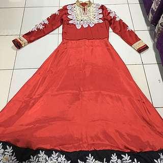 Baju India / Anarkali / Baju Muslim / Baju Pesta / Long Dress