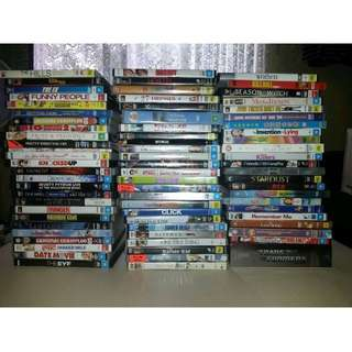 Variety DVD's from $3 each