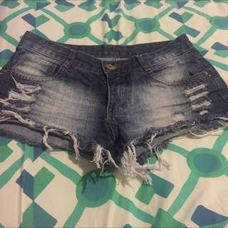 Jeans Short Size 8